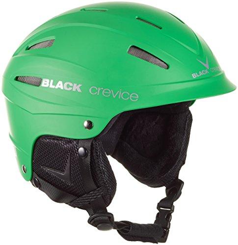 Black Crevice BCR143912, Casco de Esquí, Verde, M (57-59 cm