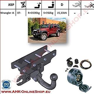Jeep Wrangler JK depuis 2007 Attelage démontable faisceau 7 broches