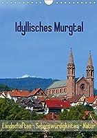 Idyllisches Murgtal  Landschaften - Sehenswuerdigkeiten - Natur (Wandkalender 2021 DIN A4 hoch): Erleben und betrachten Sie das schoene Murgtal im Schwarzwald (Monatskalender, 14 Seiten )
