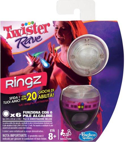 Hasbro Twister Rave Ringz - Juego de Habilidad (en Italiano) [Importado de Italia]