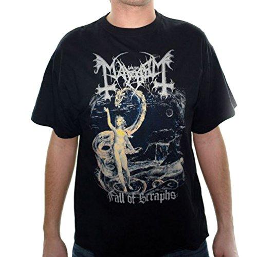 Official Merchandise Band T-Shirt - Mayhem - Fall Of Seraphs // Größe: XL