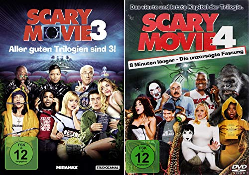 Scary Movie 3 + 4 (Duo-Set)