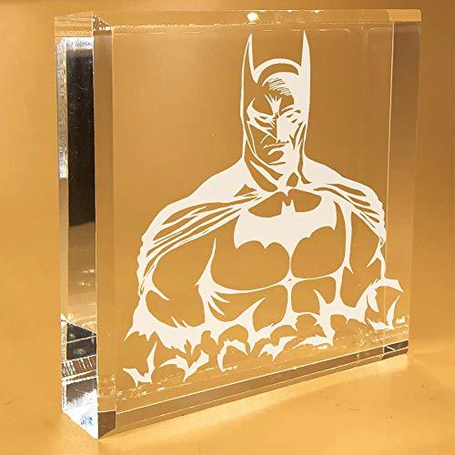 Batman Gifts For Men | Women | Boys | Lover | Him | Her | Adults | Funny | Desk Plate | Christmas | Paperweight | Keepsake