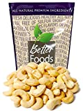Raw Cashews 22 oz (Whole, Unsalted, No Shell, All Natural, Non-GMO, In...