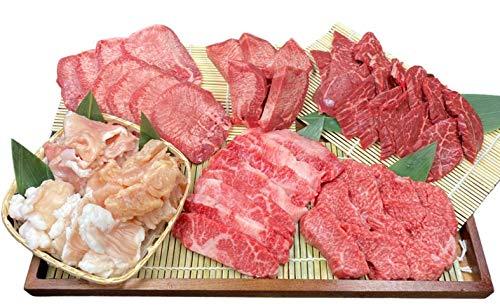 白雲台 焼肉 賑わい 焼肉セット 8種 1.2kg タレ付き 冷凍