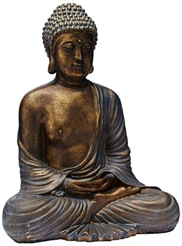 Oriental Furniture 12' Japanese Meditating Buddha Statue