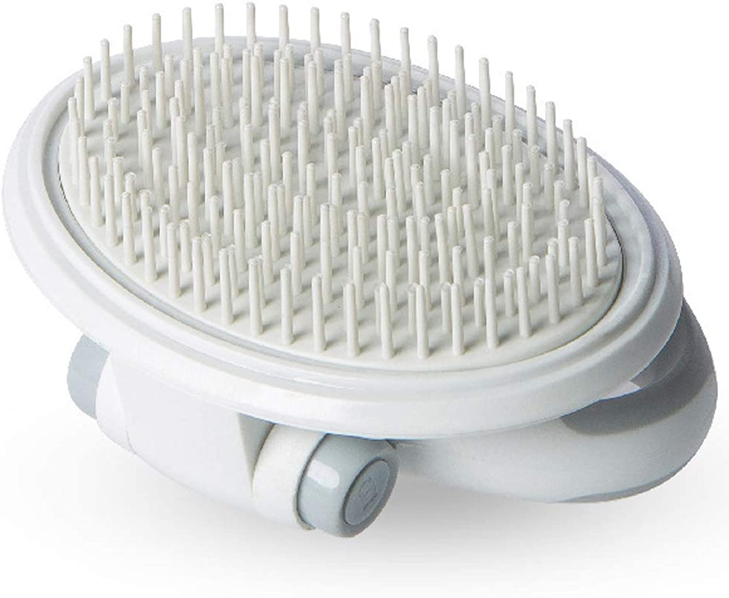 Dog pet Supplies New Stainless Steel Comb airbag Comb pet Hair Removal Comb Hair Comb pet Cats and Dogs can be Used,White