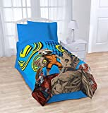 Marvel Guardians Of The Galaxy Coral Blanket Oversized 62' x 90' Throw Blue Blaze