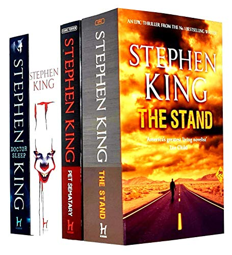 Stephen King Collection 4 Books Set (The Stand, Pet Sematary, It, Doctor Sleep)