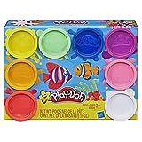 Play-Doh 8er Pack, Knete in Regenbogen Farben, für fantasievolles und kreatives Spielen, bunt