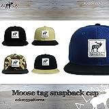 ALASCA 17-18 スナップバック キャップ Moose メンズ レディース Moose tag SnapBack Cap (Black)