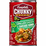 Campbell's Chunky Healthy Request Grilled Chicken & Sausage Gumbo, 18.8 oz. Can