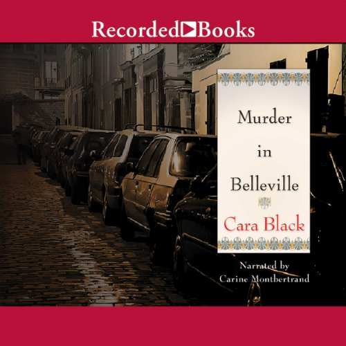 Murder in Belleville audiobook cover art