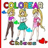 Colorear Chicas: Bonitos dibujos de chicas jóvenes para los que les gusta colorear caras, ropa, etc...