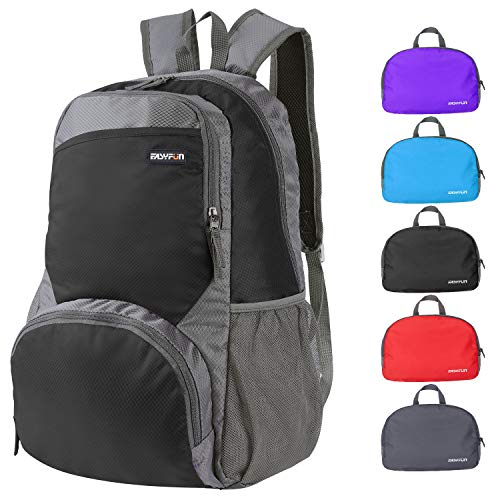 EASYFUN Packable Lightweight Back Pack for Travel 20L Foldable Backpack Hiking Daypacks...
