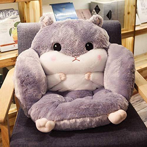 DSDD Super Soft Cushion, Winter Thicken Comfort Seat Cushion Cushion Chair Pads for Office Living Room Chair-55x39x45cm(22x15x18inch)-C
