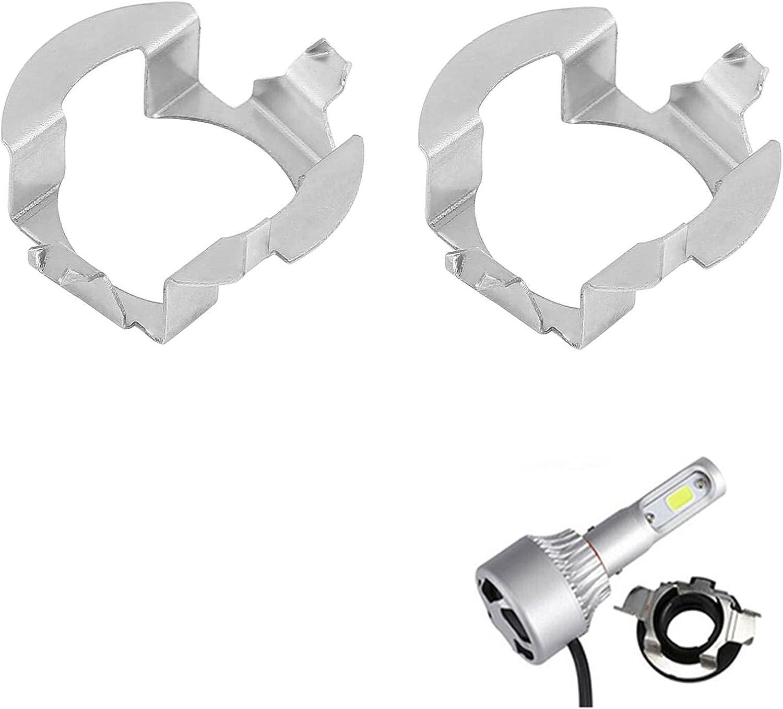 2x H7 LED Headlight Bulb Car Max 49% OFF Aluminum Bulbs Adapter Ranking TOP13 Retai