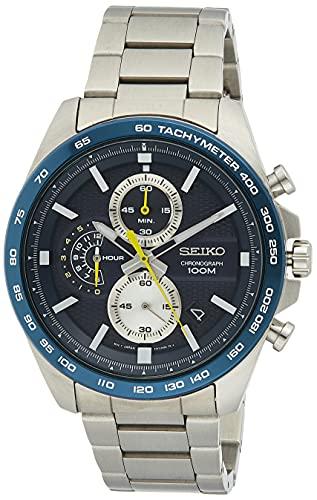 Seiko Analog Blue Dial Men's Watch - SSB259P1