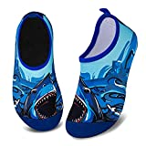 Kids Water Shoes Girls Boys Toddler Non-Slip Quick Dry Aqua Socks...