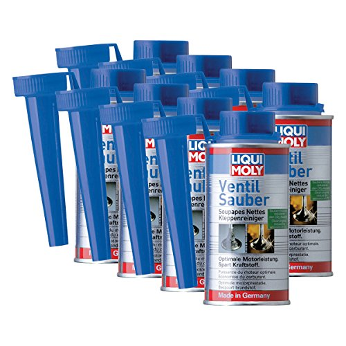 8x LIQUI MOLY 1014 Ventil Sauber Reiniger Schutz Additiv Benzin 150ml