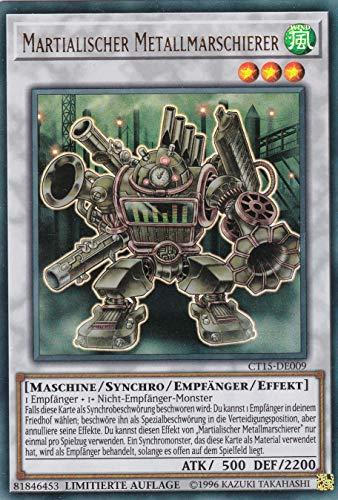 CT15-DE009 - Martialischer Metallmarschierer - Ultra Rare - Yu-Gi-Oh - Deutsch - Limitierte Auflage