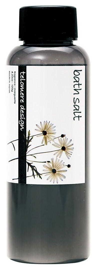 着実に粗いスケートテロメア 入浴剤 バスソルト 120g 日本製 マーガレットの香り OB-TLO-5-2