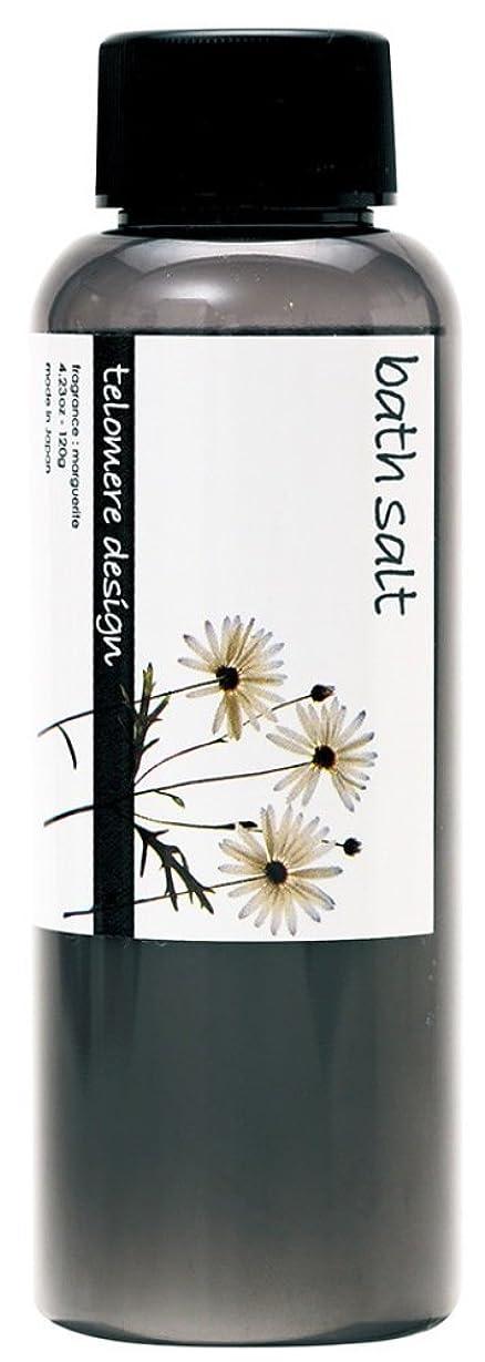 合理化ディスコ設計テロメア 入浴剤 バスソルト 120g 日本製 マーガレットの香り OB-TLO-5-2