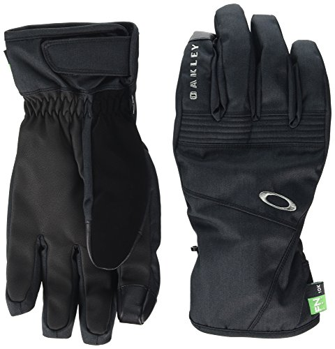 Oakley Herren Roundhouse Short Gloves Handschuh, 01k-Jet Black, L
