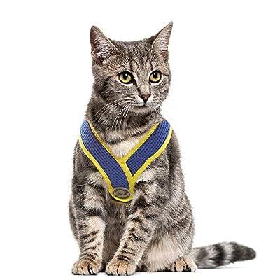 Choke Free Small Dog Harness, X Design Adjustable Soft Mesh Summer Vest
