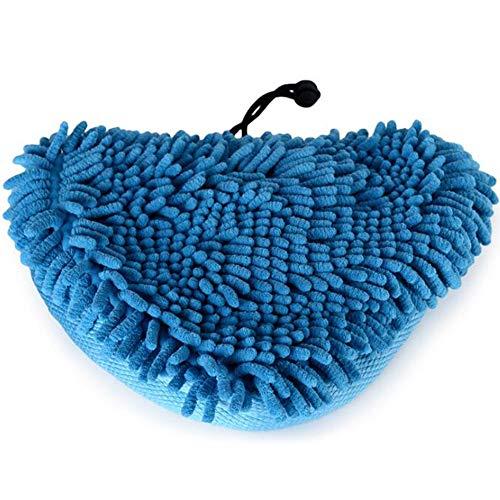 Xinlie Ersatztücher Dampfbesen Waschbar Langlebig Ersatztücher Dampfbesen Coral Pads Dampf mop tuch abdeckung Ersatzpads für Dampfreiniger mit dreieckigem Fuß Korallenbezüge Korallentücher Premium