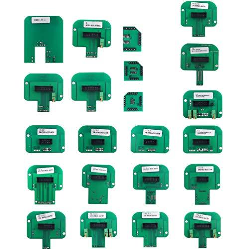 Hemobllo BDM Frame CMD Sets 22Pcs Green BDM Adapter Programmer Adapter Programmer Adapter Accessories Computer Programming Tool