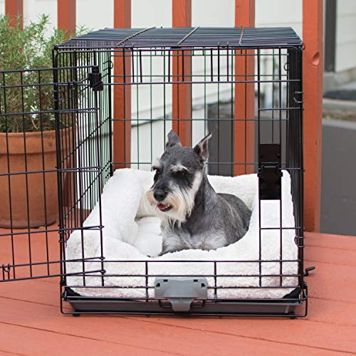 K&H Pet Products Deluxe Bolster Crate Pad Small Natural 20' X 25'