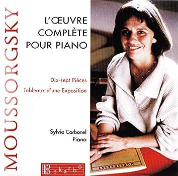 Mussorgsky: L'Oeuvre complète pour piano