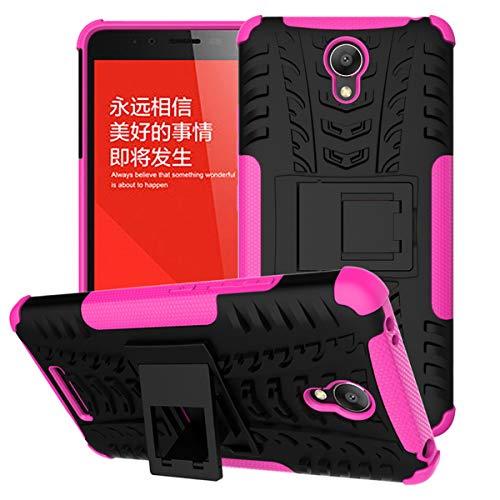Funda Xiaomi Redmi Note2, Resistente, Resistente, híbrida, Resistente, Doble Capa, Carcasa Dura, Cubierta con Textura de neumático para Xiaomi Redmi Note2 (tamaño de la Pantalla 5.5 Pulgadas)