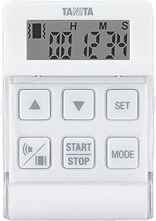 タニタ タイマー バイブレーション 24時間 ホワイト TD-370N NWH