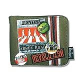BEATLES ビートルズ (来日55周年記念) - Abbey Road Canvas Wallet/Disaster(U.K.ブランド) / 財布 【公式/オフィシャル】