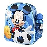 Cerdá, Mochila con Botella de Agua Infantil de Mikcey Mouse-Licencia Oficial Disney Studios Unisex...
