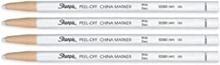 Peel-Off China Marker 164T White, 4 Markers Per Order (02060)