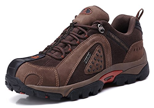 The First Outdoor Hiking Shoes Mens Waterproof Trekking Climbing Sports Breathable Shoe Large Size US 10