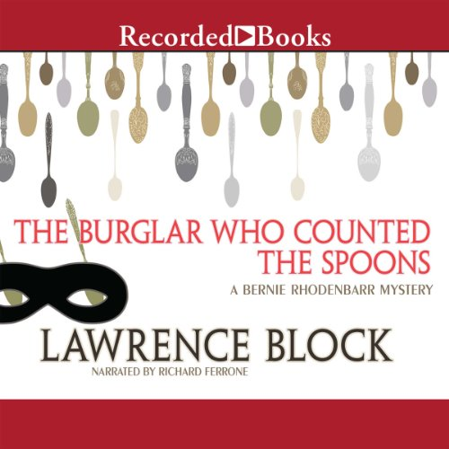 The Burglar Who Counted the Spoons audiobook cover art