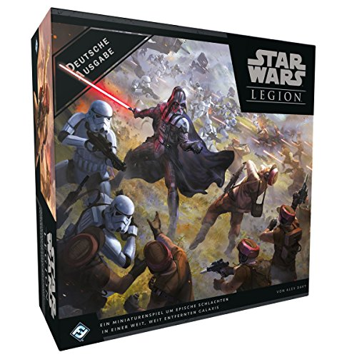 Fantasy Flight Games FFGD4600 Star Wars: Legion-Grundspiel, Bunt, Multi