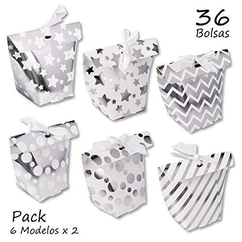 Starplast geschenkdozen, creatieve doos, met lint, verschillende ontwerpen voor Kerstmis, bruiloften, verjaardagen, enz.