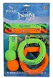 PiNAO Sports - Tauchset aus Neopren (56001) [Tauchringe, Diving Set, Tauchartikel, Tauchball,...