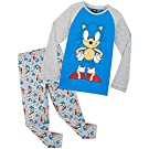 Sonic The Hedgehog Boys Pyjamas, Gaming Kids PJs Age 4-14, Clothes for Gamers