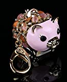 znewlook Cute Pig Love Items Bag Charm Pink Color
