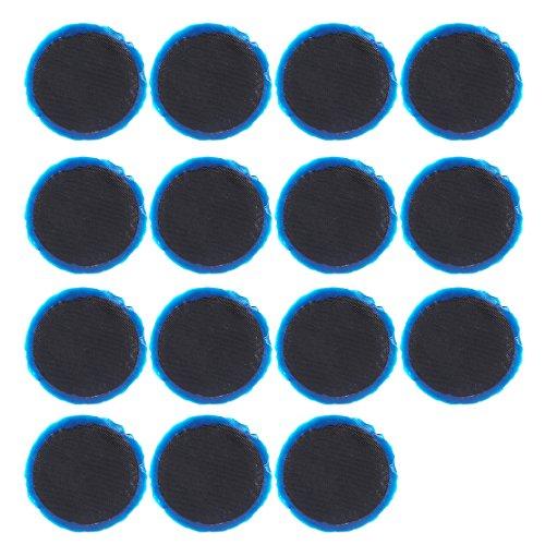 beler 15pcs Voiture en Caoutchouc Radial Pneu réparation Rond Patch Tool Assortiment Petit 42 mm