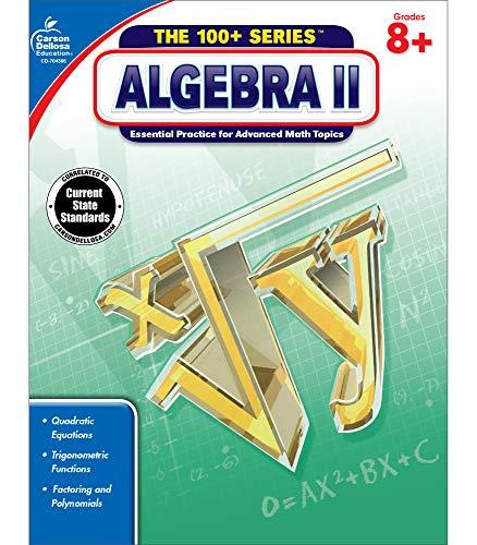Carson dellosa | algebra 2 workbook | 8th–10th grade, 128pgs (the 100+ series™)
