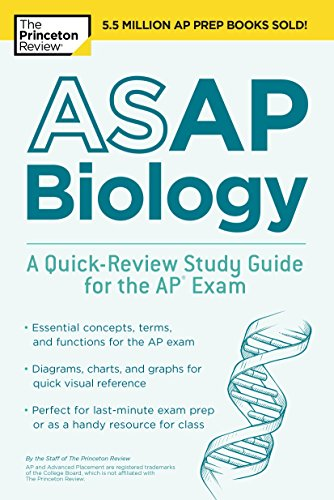 ASAP Biology: A Quick-Review Study Guide for the AP Exam (College Test Preparation)