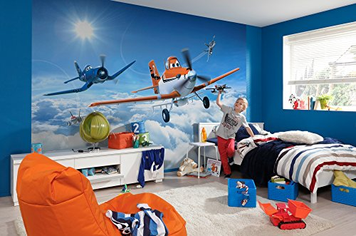 Komar Disney Wall Mural 368 x 254 cm Planes Above the Clouds