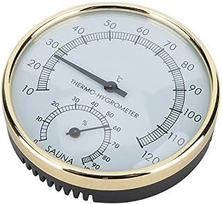 Weikeya Thermomètre Hygromètre Sauna Combo Hygromètre et Thermomètre Afficher l'humidité et la Température Intérieures Sau...